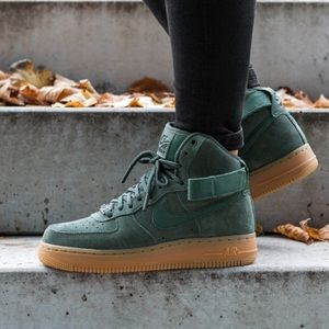 Nike Shoes - NWT Nike Air Force 1 HI SE Vintage Green WMNS